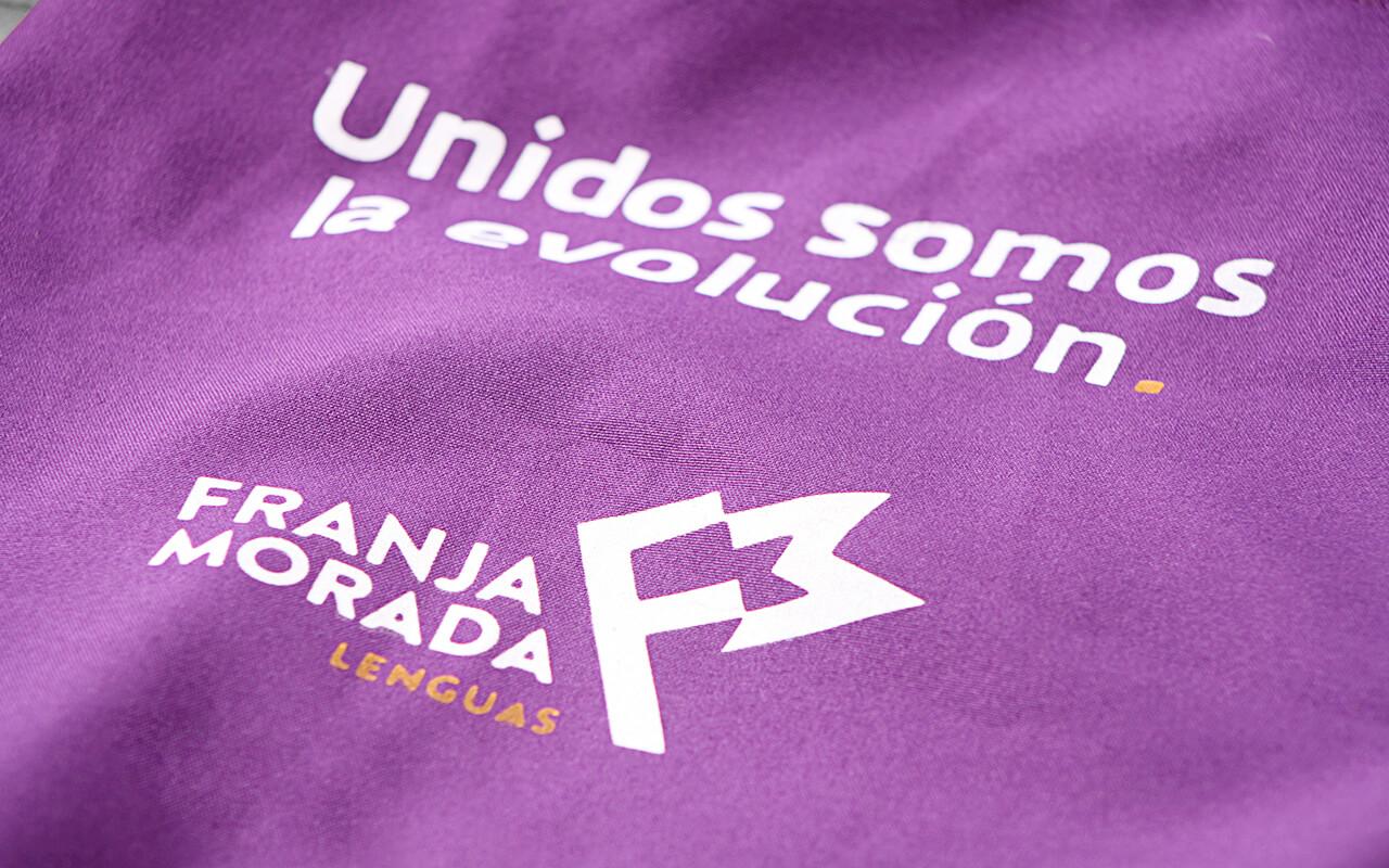 Franja Morada | Designed by Jueves™ Handmade Goods
